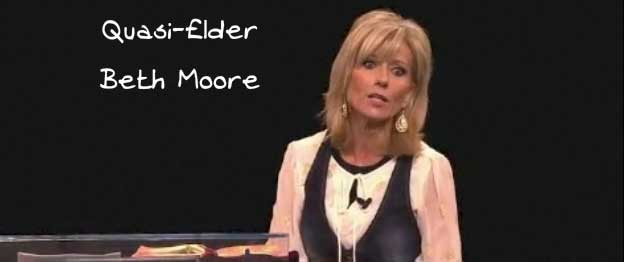 NO TEARS FOR LOST ROMAN CATHOLICS, BETH MOORE?