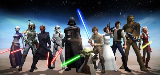 Прохождение Галактической войны в Star Wars