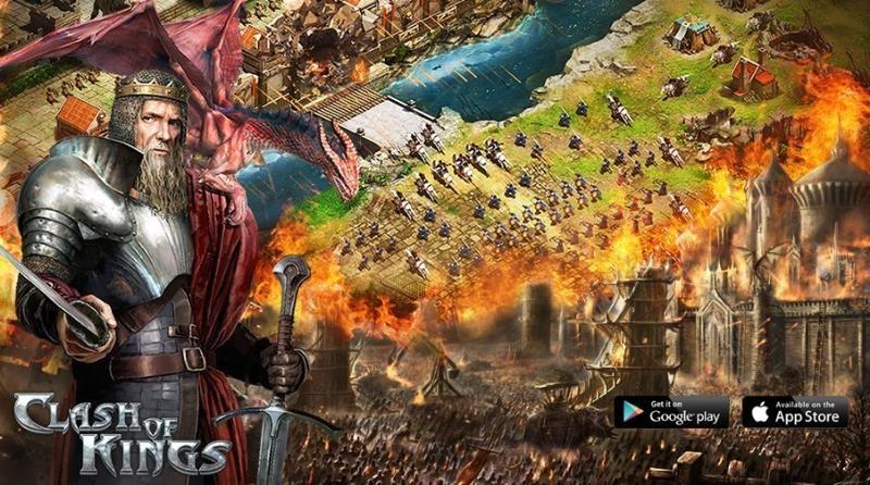 Google play игра clash of kings