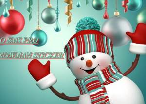 GO SMS PRO SNOWMAN STICKER for PC Windows and MAC Free Download