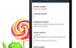 Micromax Canvas A1 starts getting Android 5.1 update in India