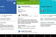 How to find out changes in Android apps after each update