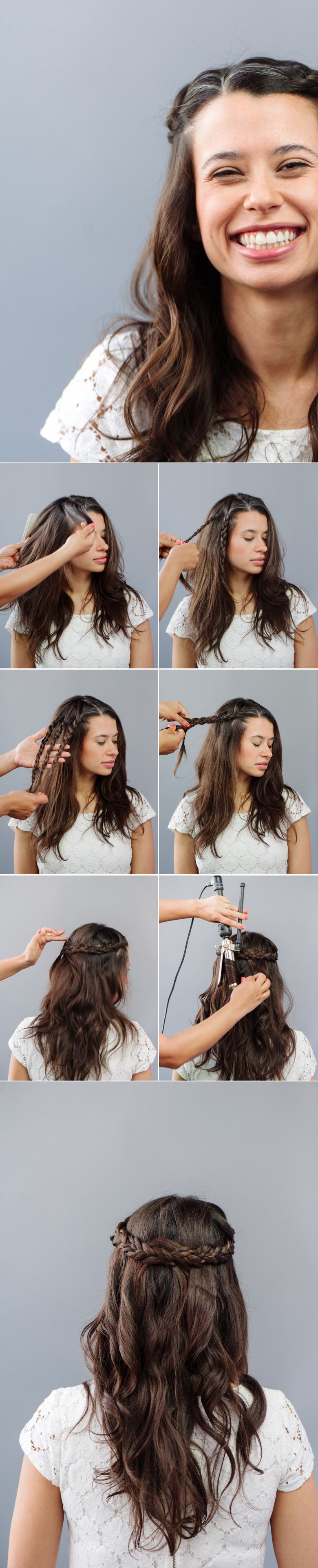 How To: Braided Wedding Hair for Beginners | A Practical Wedding