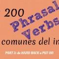 Lista Phrasal verbs