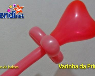 Escultura de Balão - Varinha de Princesa
