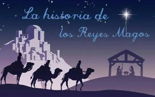 Historia de los Reyes Magos contada para los niños