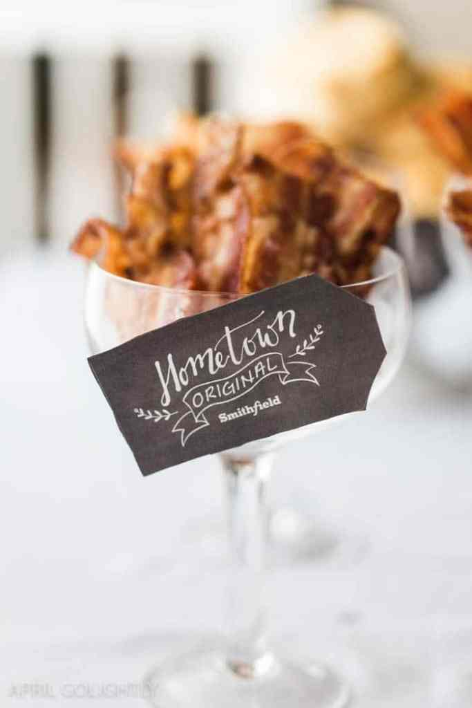 Entertain with a Bacon Bar + Free Bacon for a Year Giveaway