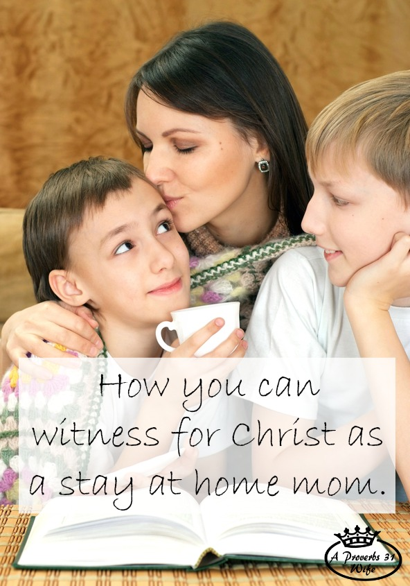 Witnessing to others as a stay at home mom isn't impossible. In fact it's very simple, but you may be going at it wrong.  Click through to keep reading how witnessing to others as a stay at home mom is totally doable!