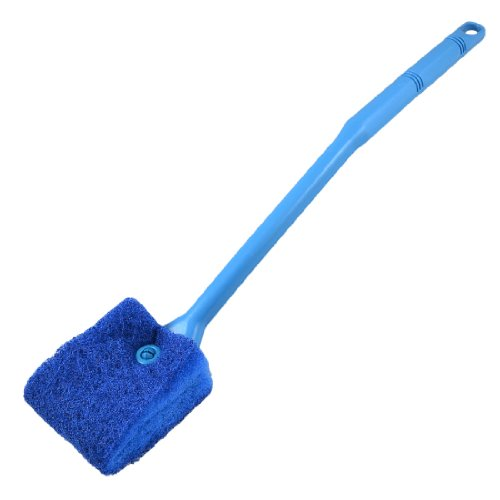 Aquarium Fish Tank Double Sided Sponge Cleaning Brush Cleaner Scrubber