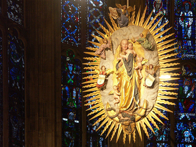 Aureola Aachen_cathedral_008