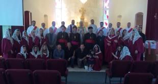 تكريس وتقديس مذبح كنيسة الربان هرمز لكنيسة المشرق الآشورية في مدينة سان دييكو الأمريكية