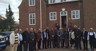 الجالية العراقية في كوبنهاغن تقدم التعازي الى السفارة العراقية برحيل البطريرك مار دنخا الرابع