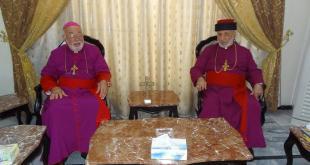 في بغداد: قداسة البطريرك مار أدى الثاني يزور قداسة البطريرك مار كيوركيس الثالث صليوا