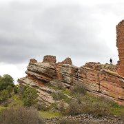 … y del castillo de los Ares.