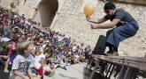 Diversión familiar en el Gaire, Festival de Artes Escénicas de Pancrudo