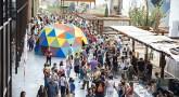 El circo protagoniza la gran fiesta de la Carrera del Gancho en Zaragoza
