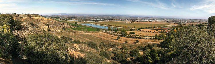 Vistas desde el mirador de San Quílez.