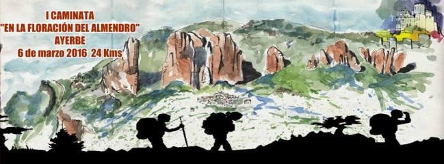 Imagen de la I Caminata en la Floracion del Almendro.