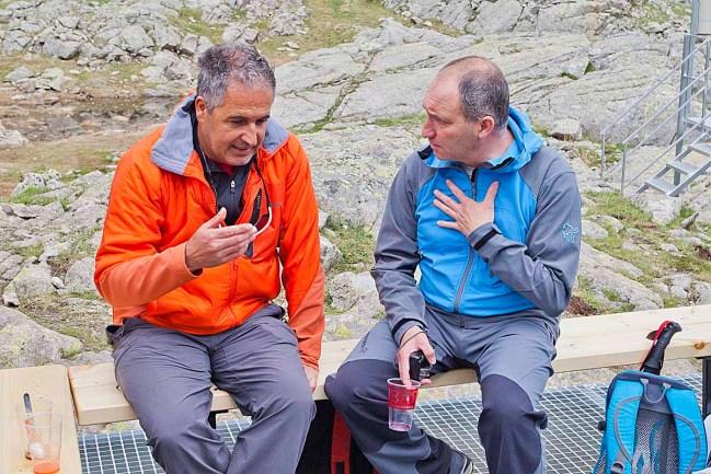 El evento congregó también a guías de montaña y guardas de refugios.
