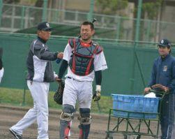 朝倉選手と森コーチ