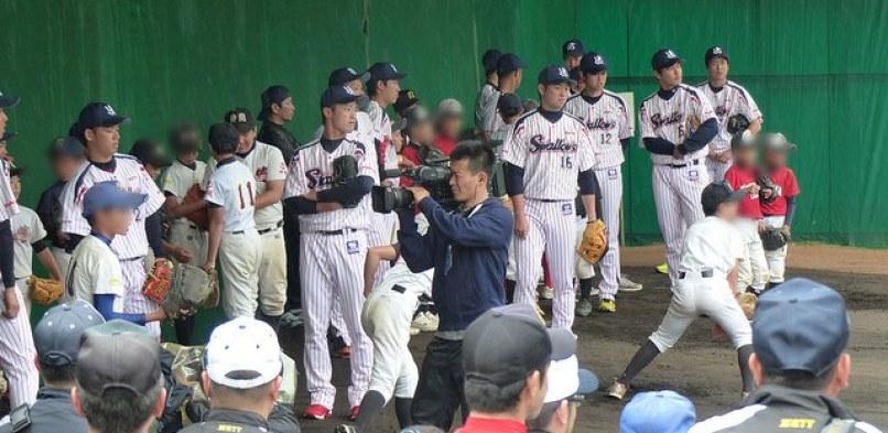 【野球教室】2014東京ヤクルトスワローズ春季キャンプ@浦添 2/9