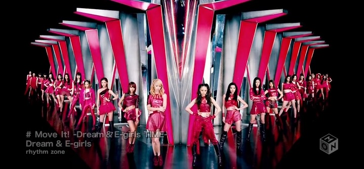 "E-girls releases ""Move It! -Dream & E-girls TIME-"" PV from new album"