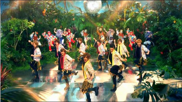 "Hey! Say! JUMP enjoys summer in the jungle in ""Maji Sunshine"" PV + Arena Tour Announced"