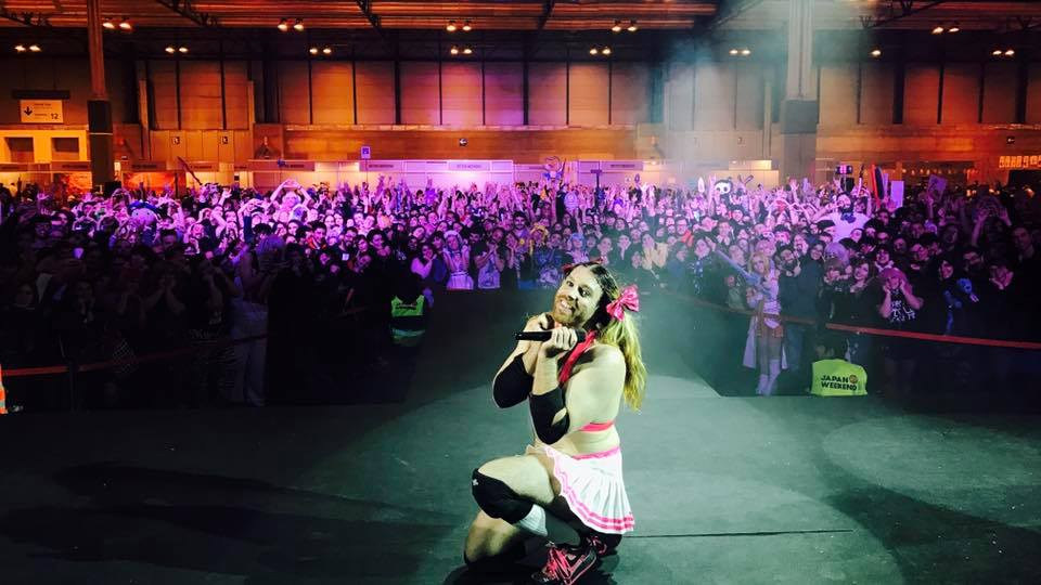 [LIVE REPORT] LADYBEARD covers your faves and knocks out his haters at Japan Weekend Madrid!