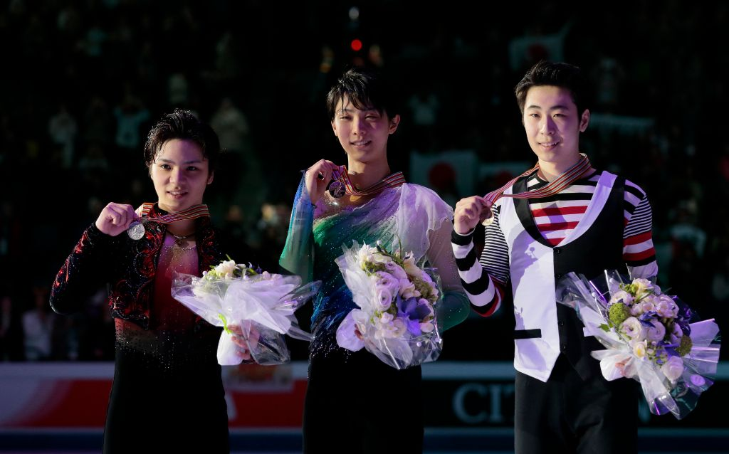 Yuzuru Hanyu Wins World Championships, Shoma Uno Places 2nd
