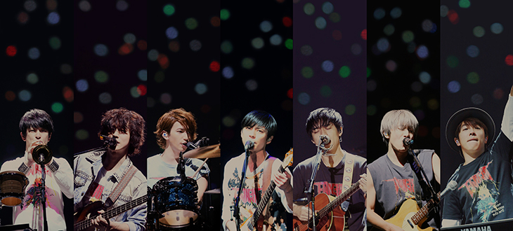 """Kanjani8 invites you to """"Jam"""" in new album and announces performance at """"METROCK 2017"""""""