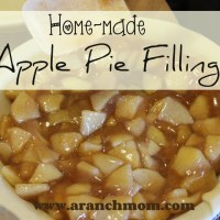 Home-made Apple Pie Filling