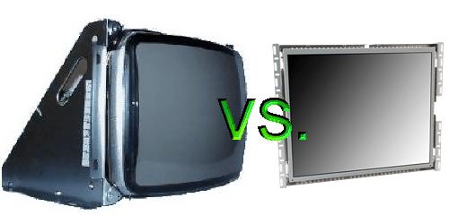 CRT Vs. LCD monitors