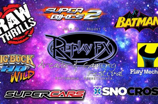 Pennsylvania Arcade Update: ReplayFX Adds Raw Thrills; The Game Is Afoot Arcade Opens in Warrin