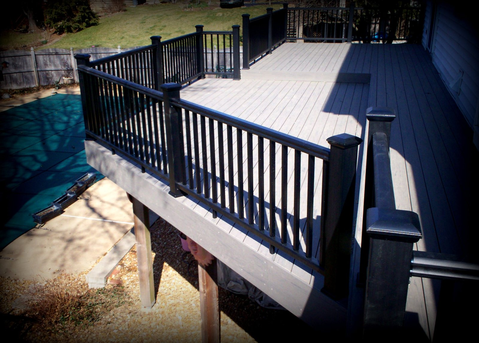 Deck design ideas using timbertech terrain st louis Terrain decking