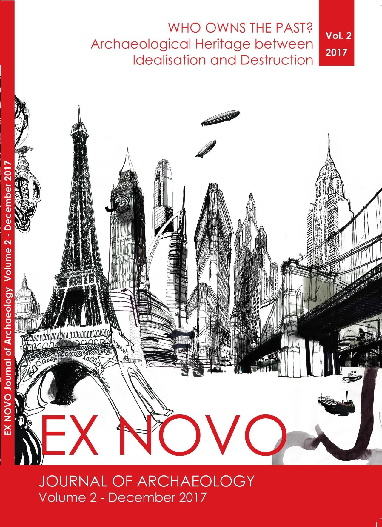Ex Novo Nr. 2 Cover Image 'Metropolis' @ courtesy of Daniel Egneus