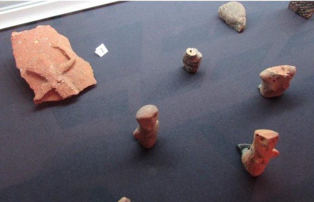 Archaeological artifacts discovered during the excavations of the prehistoric and Antiquity settlement near the town of Varbitsa in Northeast Bulgaria. Photo: Trud daily