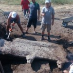 Archaeologists Discover Roman Water Fountain with Lion Heads in Ancient City Heraclea Sintica near Bulgaria's Petrich