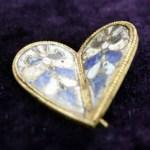 10th Century Golden Heart Jewel Worn by Bulgarian Empress Discovered in Medieval Capital Veliki Preslav