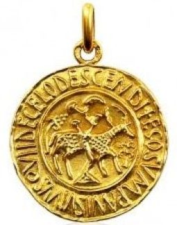medaille eucharistique cathedrale de tunis