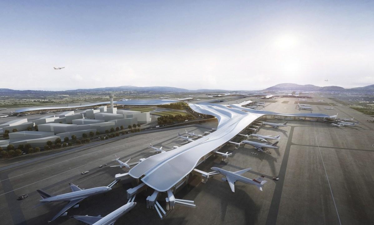Chengdu International Airport, Chengdu, China © Aedas