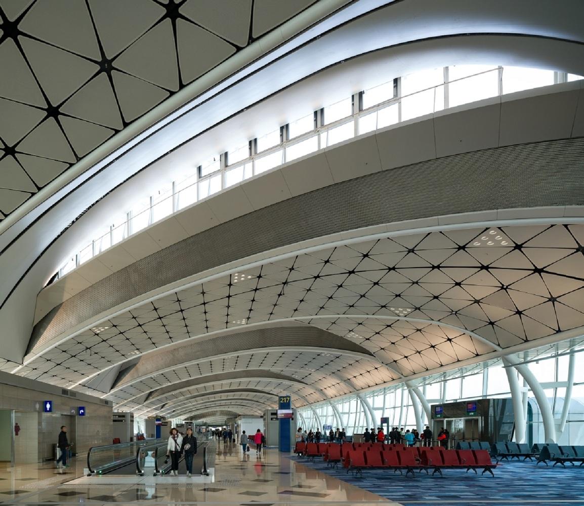 Midfield Concourse © Aedas