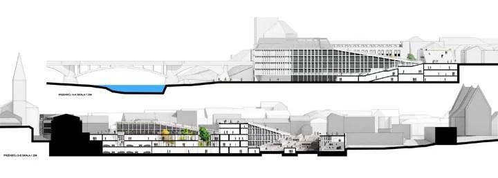 Projekt Starego Miasta w Oświęcimiu