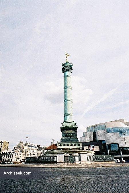1840 - Place de la Bastille, Paris