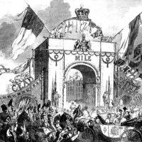 1849 - Royal Triumphal Archway, Baggot Street, Dublin