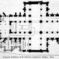 1898 - Proposed Additions to St. Patrick's Cathedral, Dublin