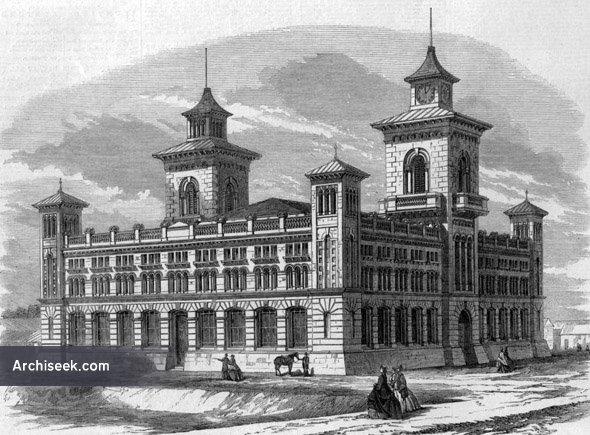 1865 exhibition building dunedin otago new zealand