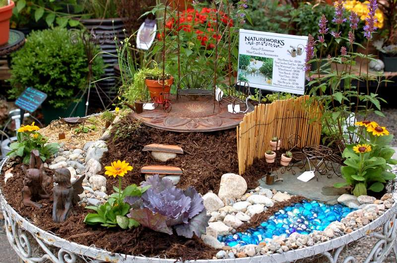Large Of Fairy Garden Waterfall