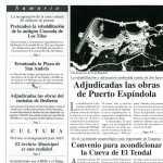 13. Portada del Boletín «El Sauce» nº 1. El AMSAYS es una realidad. · San Andrés y Sauces