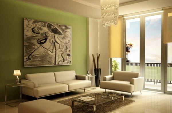 wandgestaltung wohnzimmer brauntöne: auch die decke ist mit den ... - Wandgestaltung Wohnzimmer Braun Beige