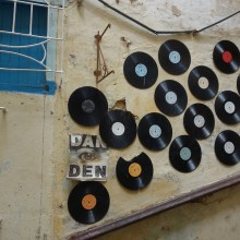 Records wall 2